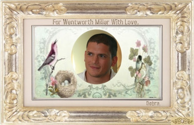 Wentworth Miller with Love.