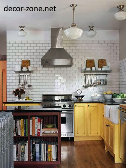 White Kitchen Backsplash Tile Ideas For Country Kitchen