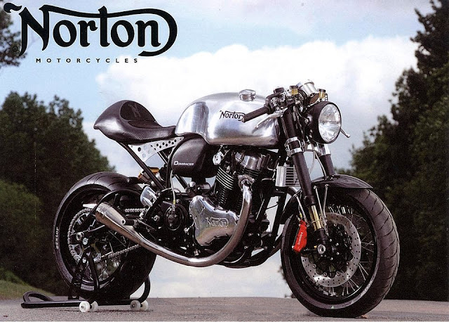 Bike Cafe Racer Parts : Norton domiracer cafe racer return of the racers