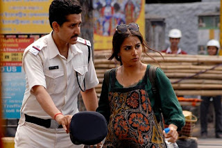 Vidya Balan and Parambrata Chatterjee in Kahaani
