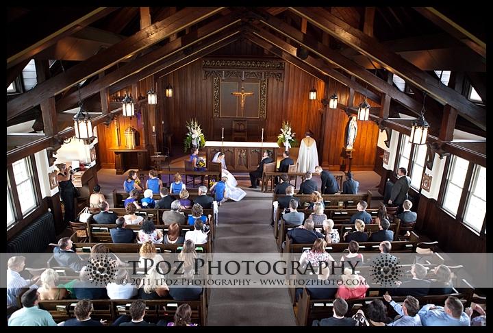 Trinity School Ellicott City Wedding Ceremony