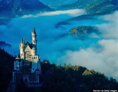 Kastil Peri Bayern Neuschwanstein