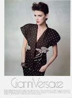 Annabel Schofield, Versace