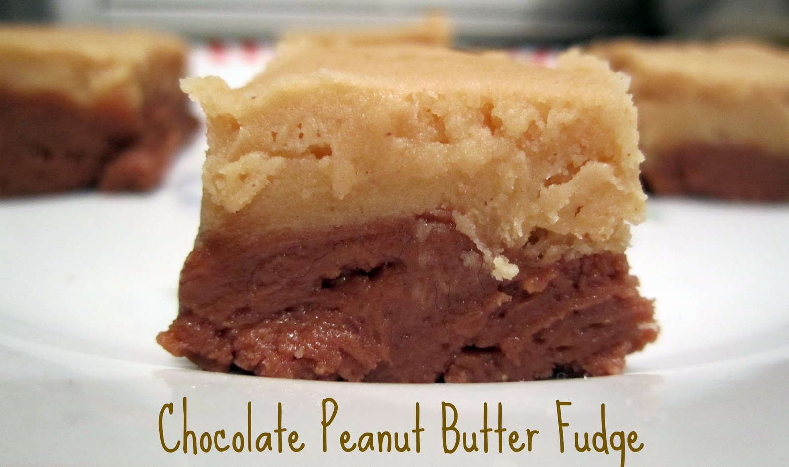 Chocolate Peanut Butter Fudge - Whats Cooking Love?