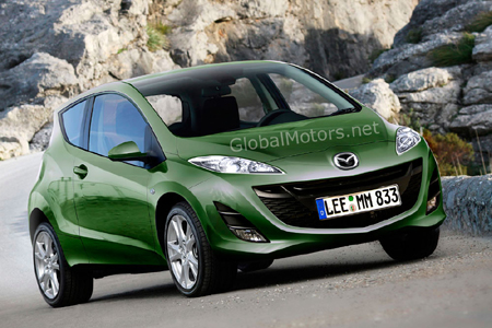 Front picture of Mazda 1