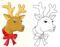 Image: Make Your Own Christmas Gift Tags with Original Artwork
