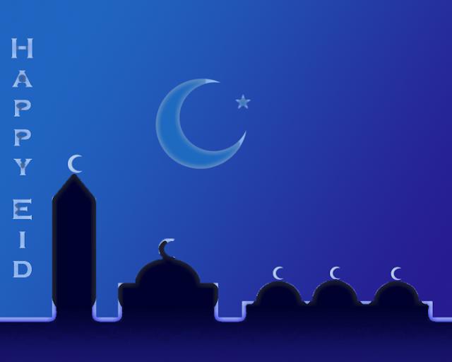 Happy Eid Al Fitr عيد فطر سعيد