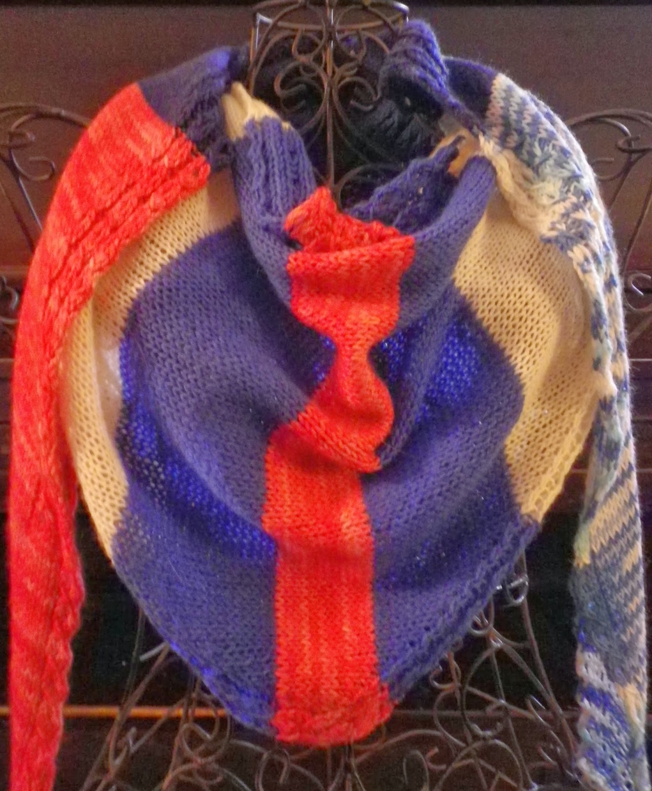 Skeezix -  a River Shannon Shawl by Feather of Crescent Moon Collective