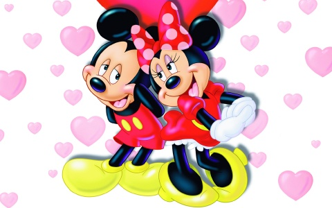 Free Romantic Cards 2014 Free Romantic eCards – Minnie Mouse Valentine Cards