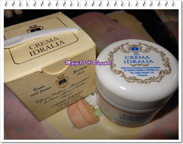 敏感乾性 混合乾性皮膚分享 Santa Maria Novella Idralia Cream 更新