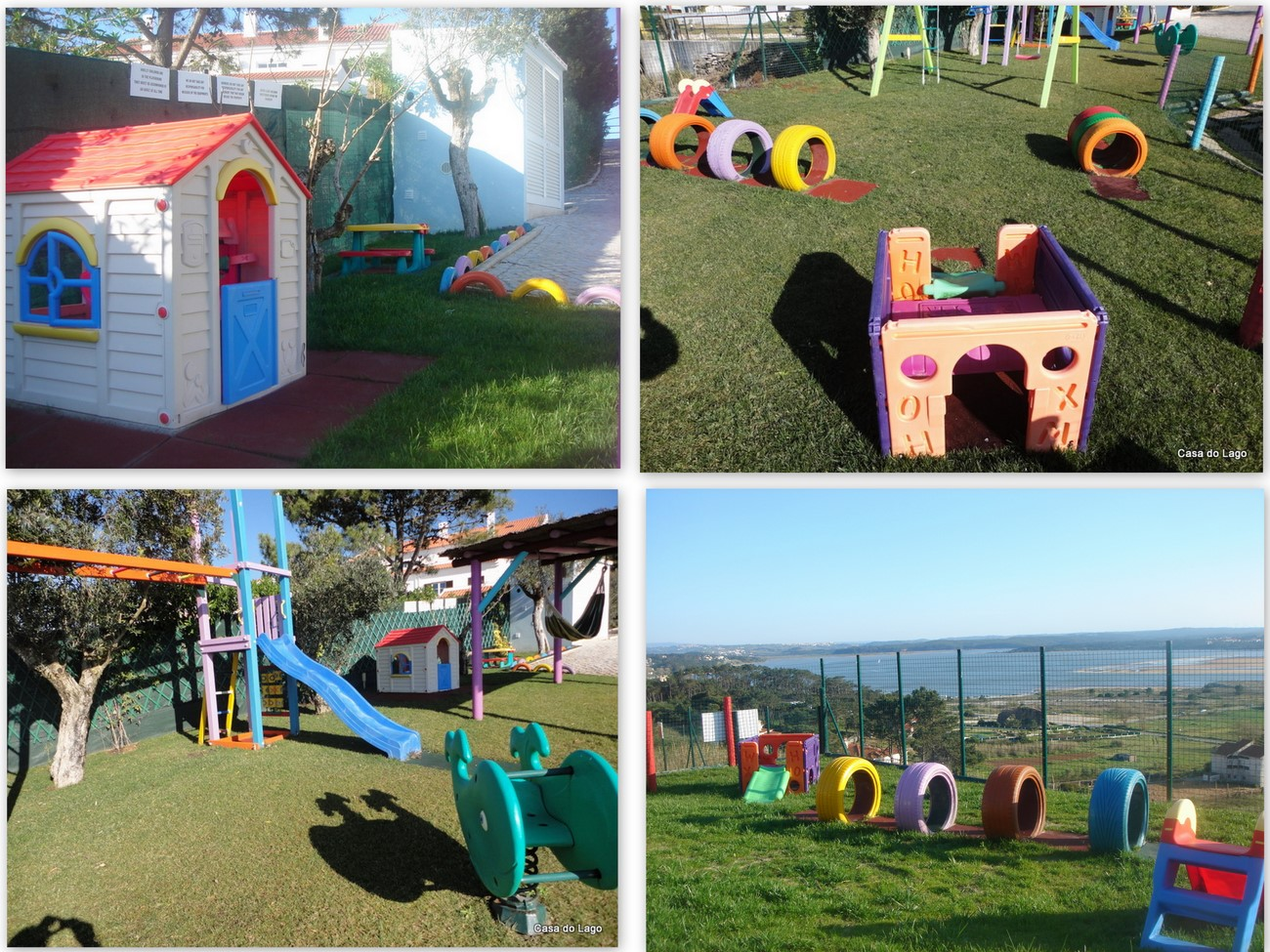 Children playground at Casa do Lago