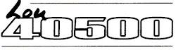 """""""Lou 40500"""""""