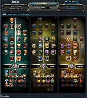 Rift Warlord Build