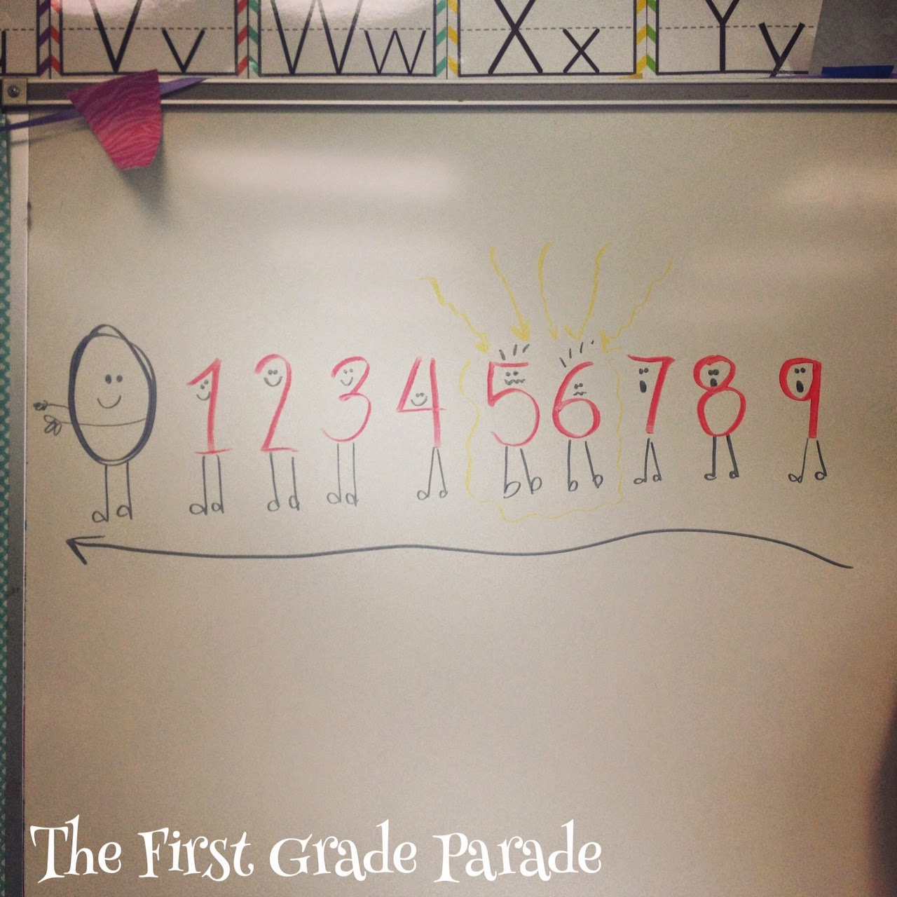 Worksheet First Grade Number Stories the first grade parade naughty numbers numbers