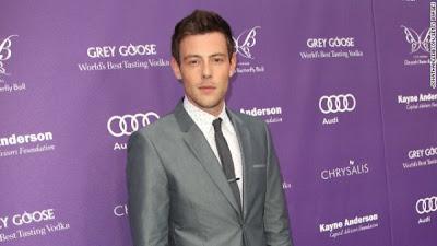 Cory Monteith yang merupakan salah satu tokoh utama dalam serial Glee