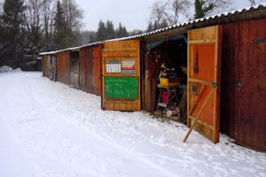 la neige à l'atelier