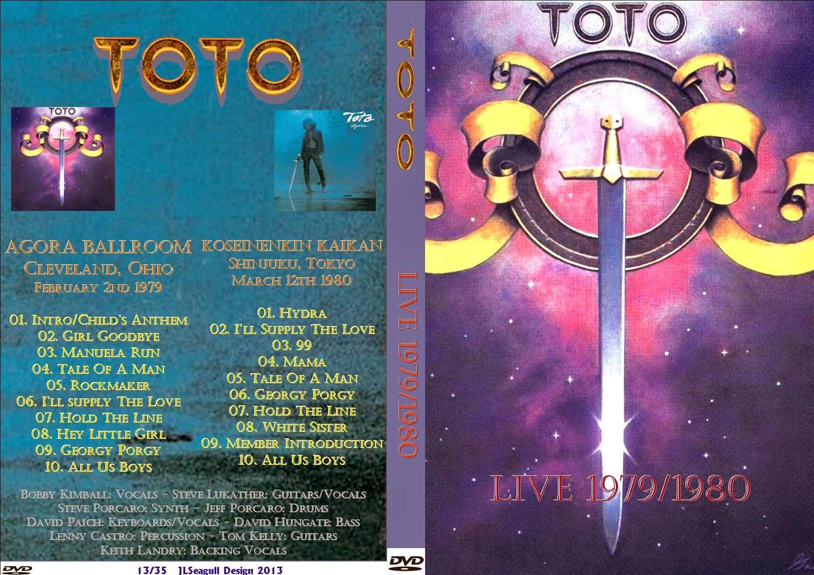 T.U.B.E.: Toto - 1979-1980 - Various (DVDfull pro-shot)