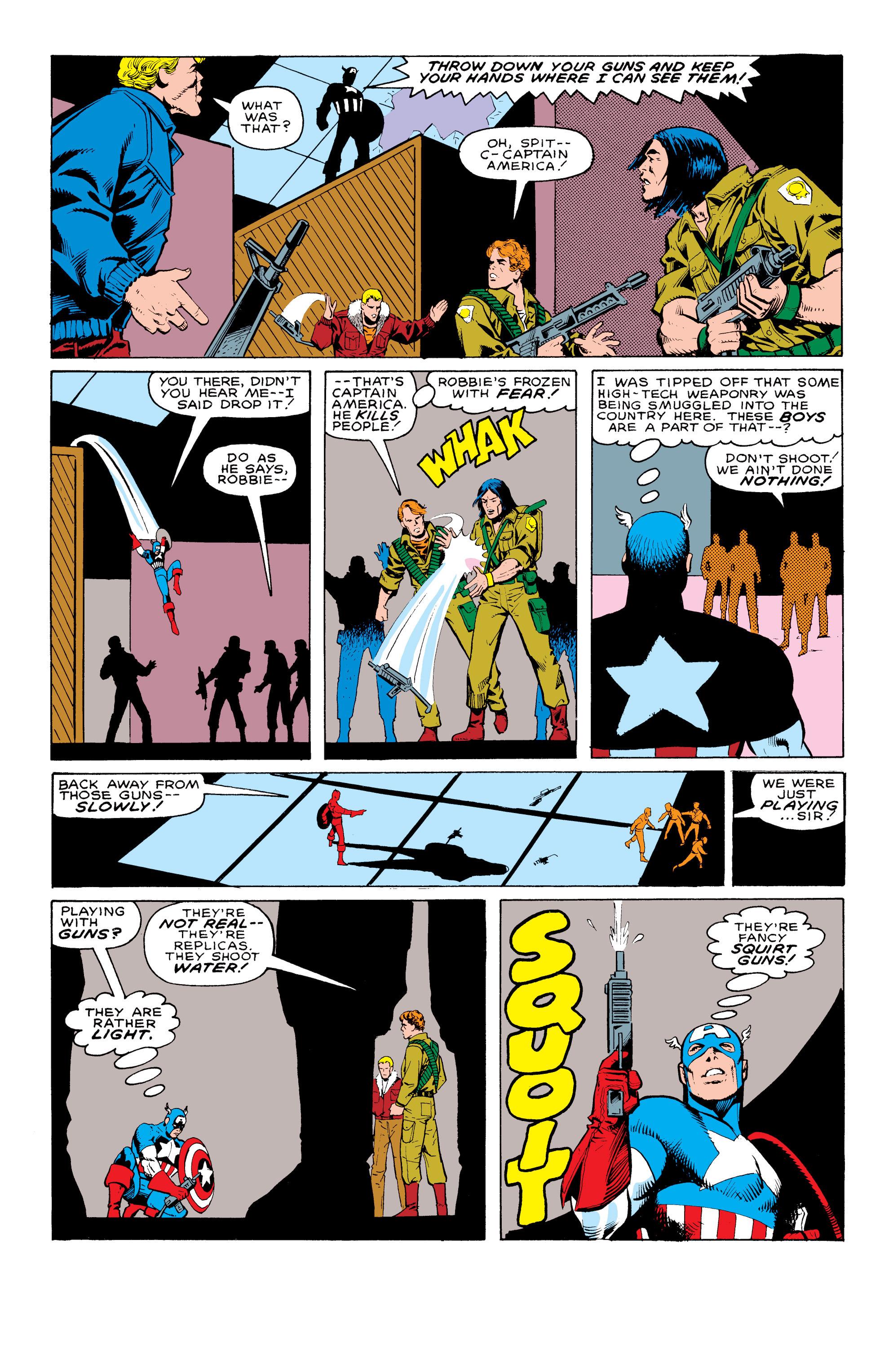 Captain America (1968) Issue #324 #253 - English 3