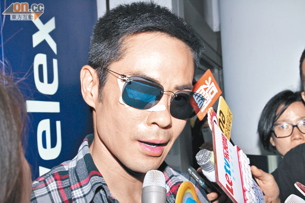 Kevin Cheng stitches