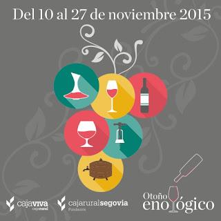 Otoño enológico en Segovia 2015