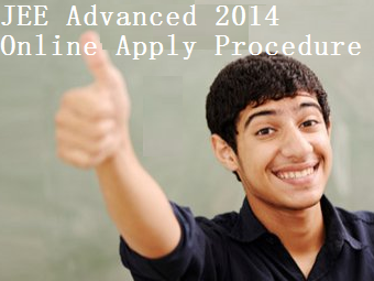 JEE Advanced 2014 Apply Online