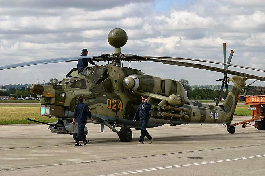 Gambar Helicopter Tempur Mi-28 Havoc