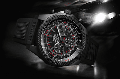 Basel 2013 Breitling Bentley Light Body Midnight Carbon