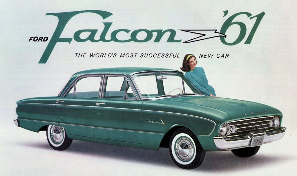 Old Ads Are Funny: 1961 ad: Ford Falcon