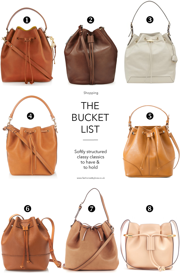best bucket and drawstring bags to buy for all budgets / trends spring 2015 / accessories report / best bags for 2015 / via fashioned by love