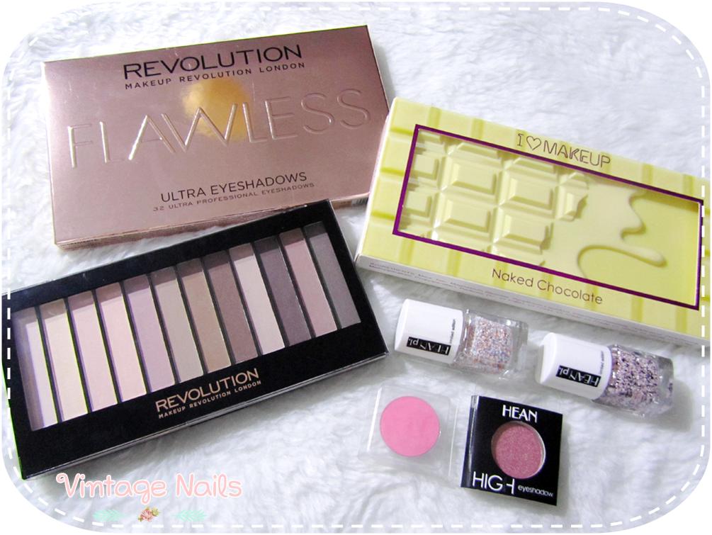 Makeup Revolution, I Heart Makeup, Hean, haul