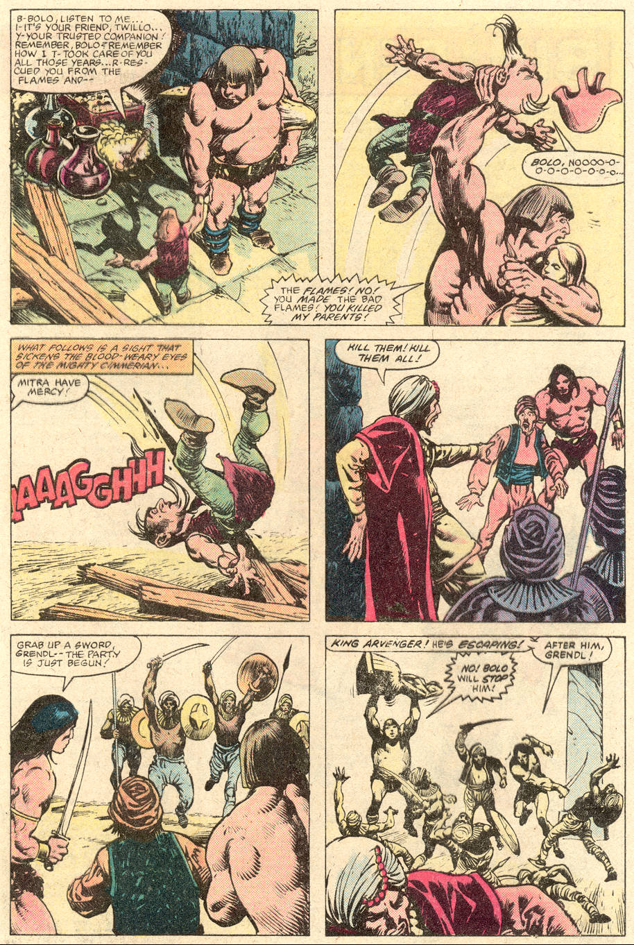 Conan the Barbarian (1970) Issue #137 #149 - English 22