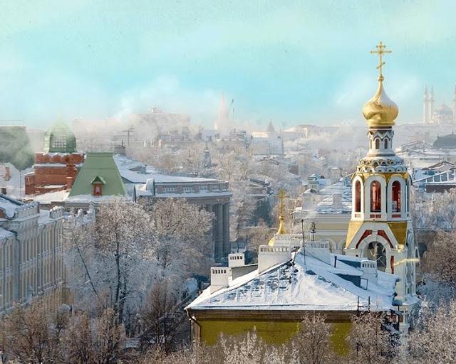 Winter in Kazan