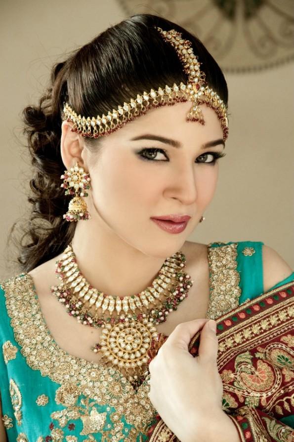 Fashion World Latest Fashion Pakistani Bridal Make Up Pictures