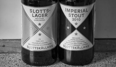 Slottslager Imperial Stout Slottskällans Bryggeri