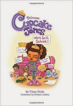 Princess Cupcake Jones Won't Go To School  cover