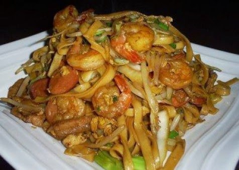 Resep Masakan Mie Kering Saus Seafood