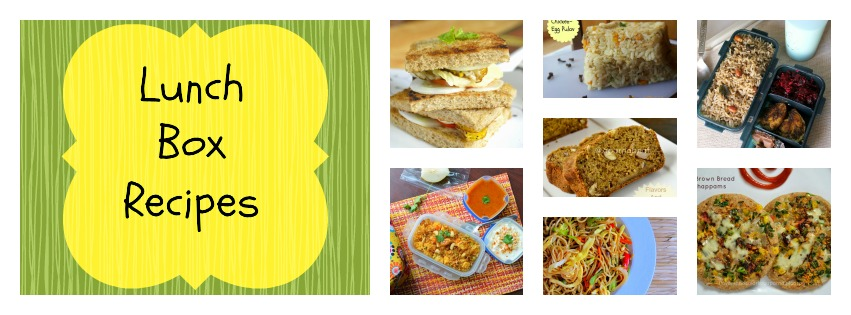 lunch box recipes, lunch box ideas, lunch