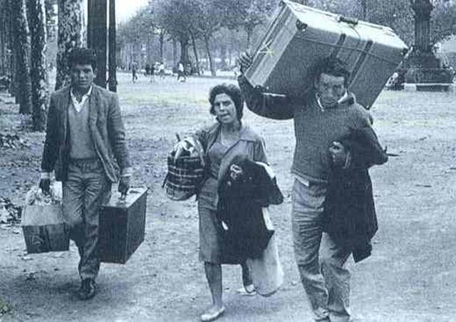Emigració espanyola a Catalunya ia la resta, Emigración española a Cataluña y al resto del mundo.
