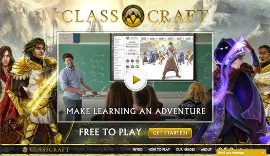 """""""Gamifica tu clase y  convierte el aprendizaje en una aventura"""" es el lema de Classcraft."""