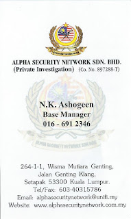 ALPHA SECURITY NETWORK SDN BHD