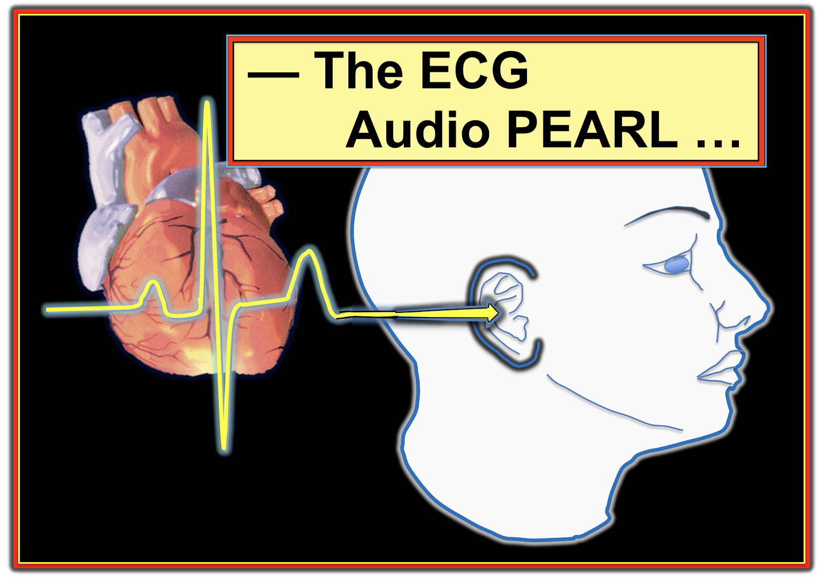 The ECG AUDIO PEARL