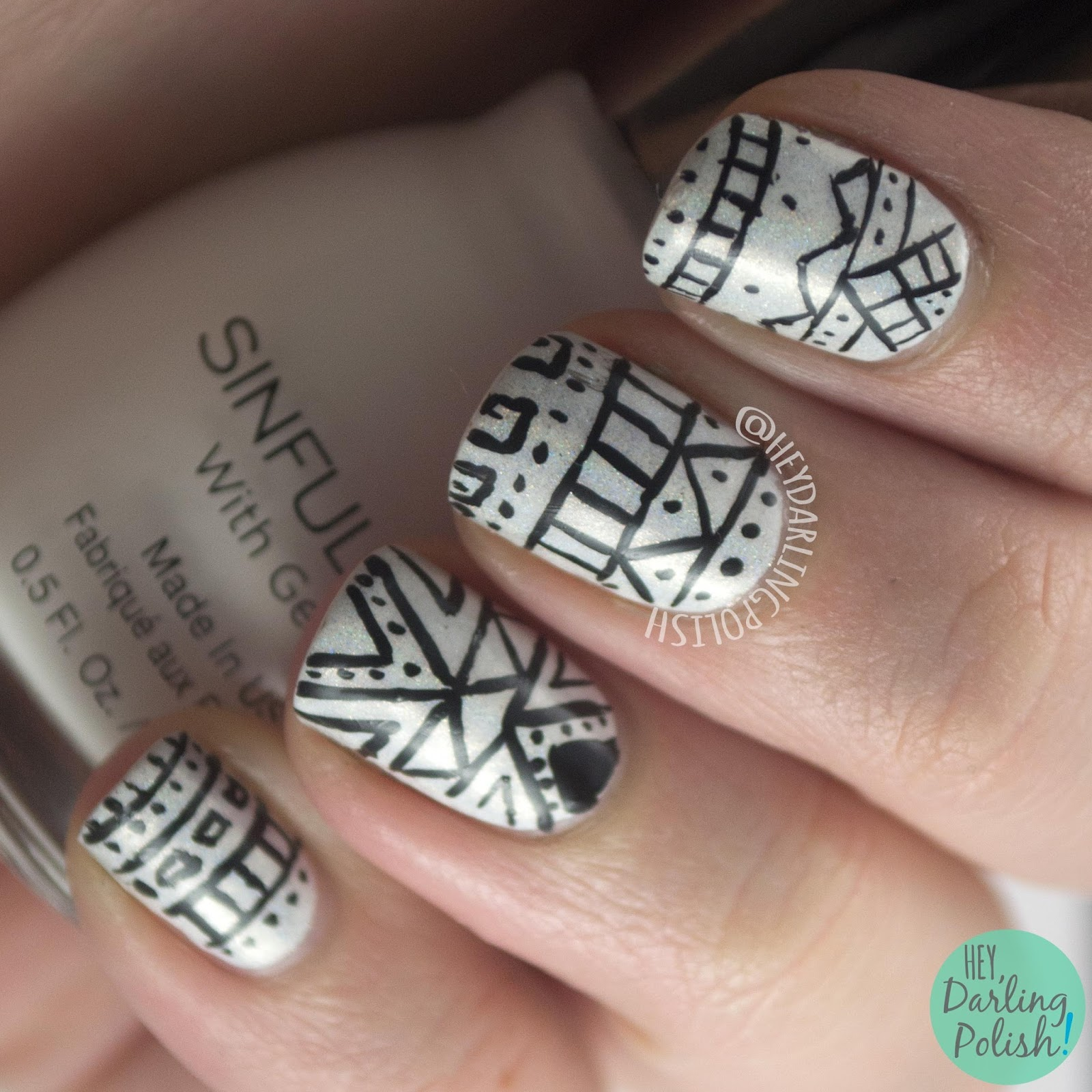 Amazing Tribal Nails Art Picture Pattern - Nail Art Ideas - morihati.com