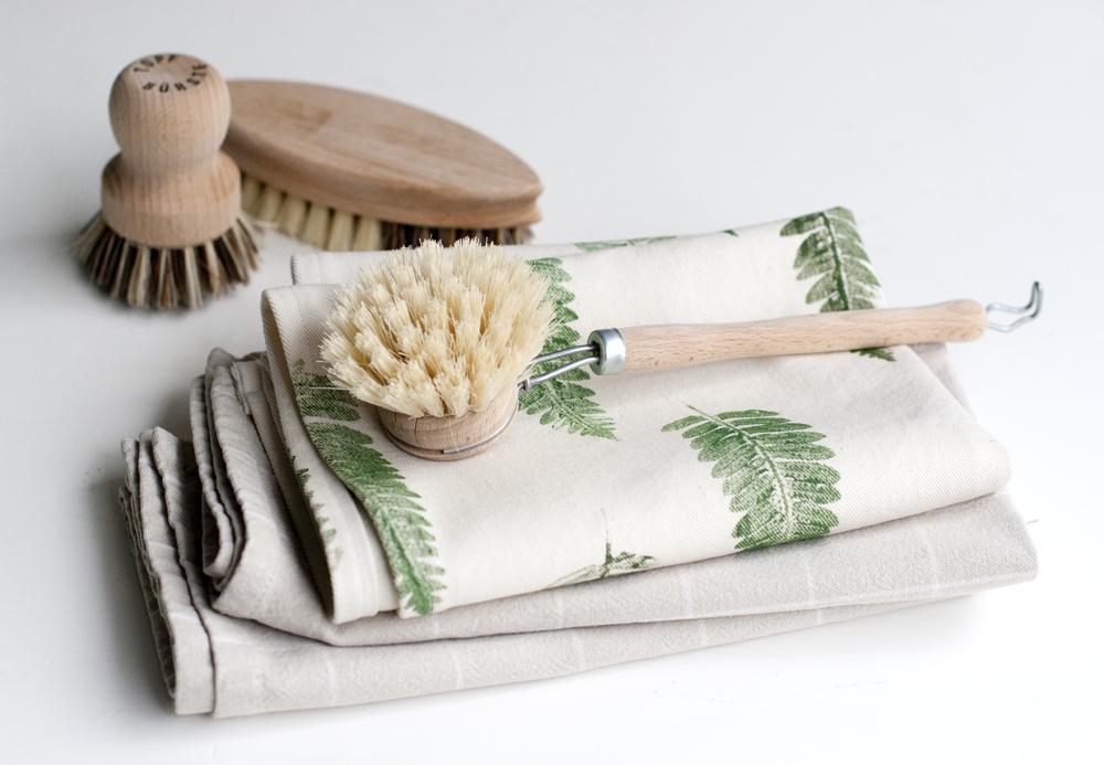 UKKONOOA Keittiöpyyhe  Tea towel with fern print