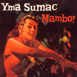 Good condition of Yma Sumac's 'Mambo!' album art