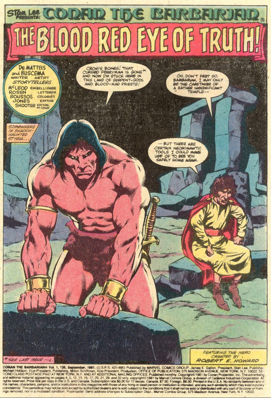 Conan the Barbarian (1970) Issue #126 #138 - English 2
