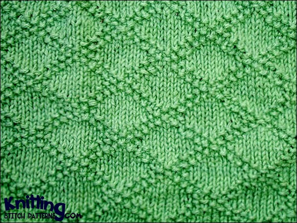 Simple Knit And Purl Patterns : Stitch Patterns Using Knit-Purl Combinations Knitting Unlimited
