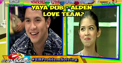 Yaya Dub and Alden Richards love team