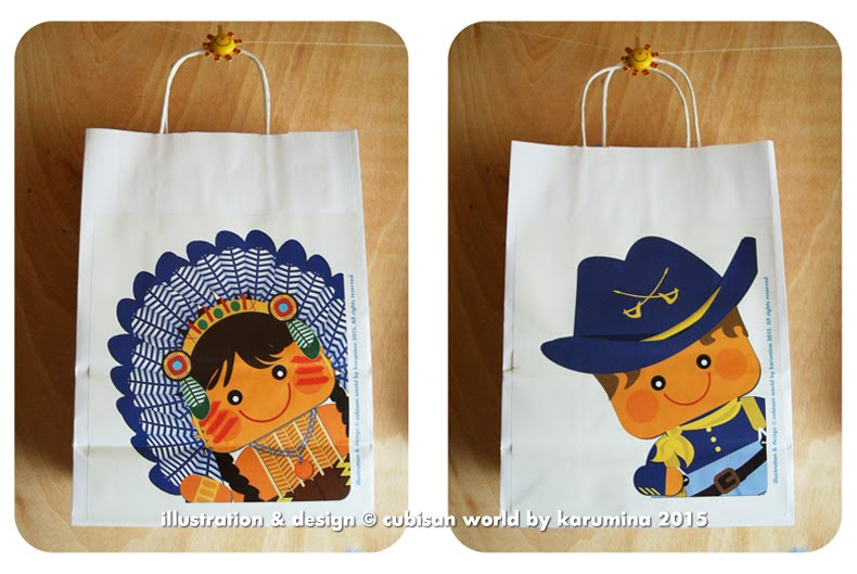 Cute Paper Bags for gifts :)