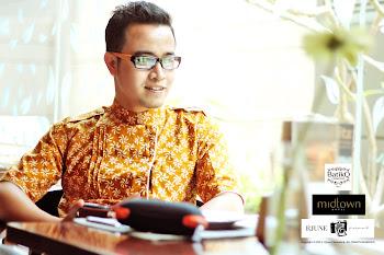 Urban Style (Batik motif kembang api coklat)