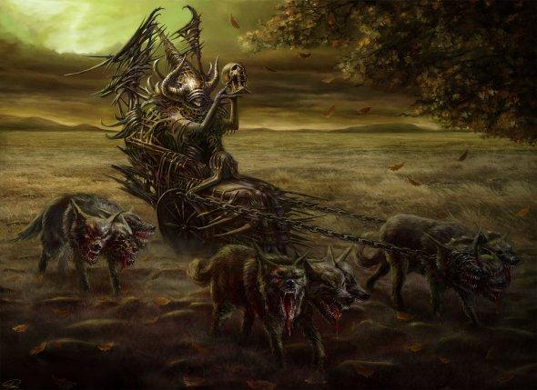 Piotr Ruszkowski ser1o deviantart ilustrações e foto manipulações photoshop surreal sombrio fantasia ficção terror hr giger inferno